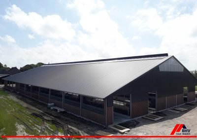 Hantum – dak en gevel nieuwbouw